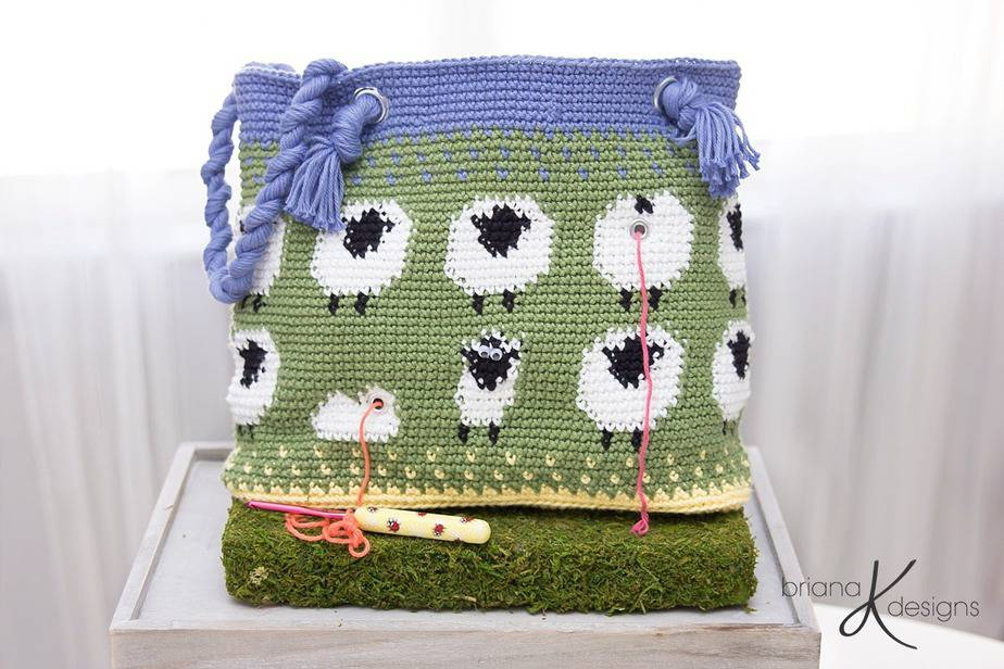 Sheep Lamb Project Bag
