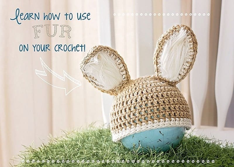 learn how to use fur on your crochet